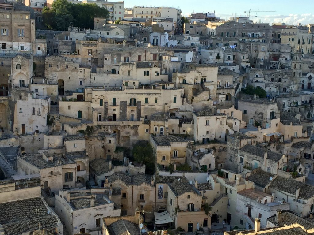 Matera Sassi Barisano district