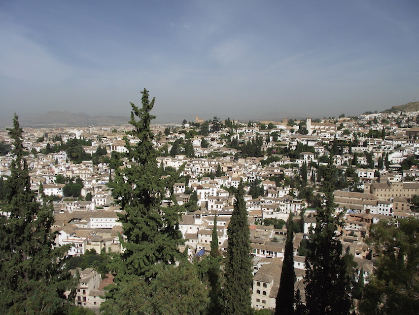 View from the Alhambra grounds