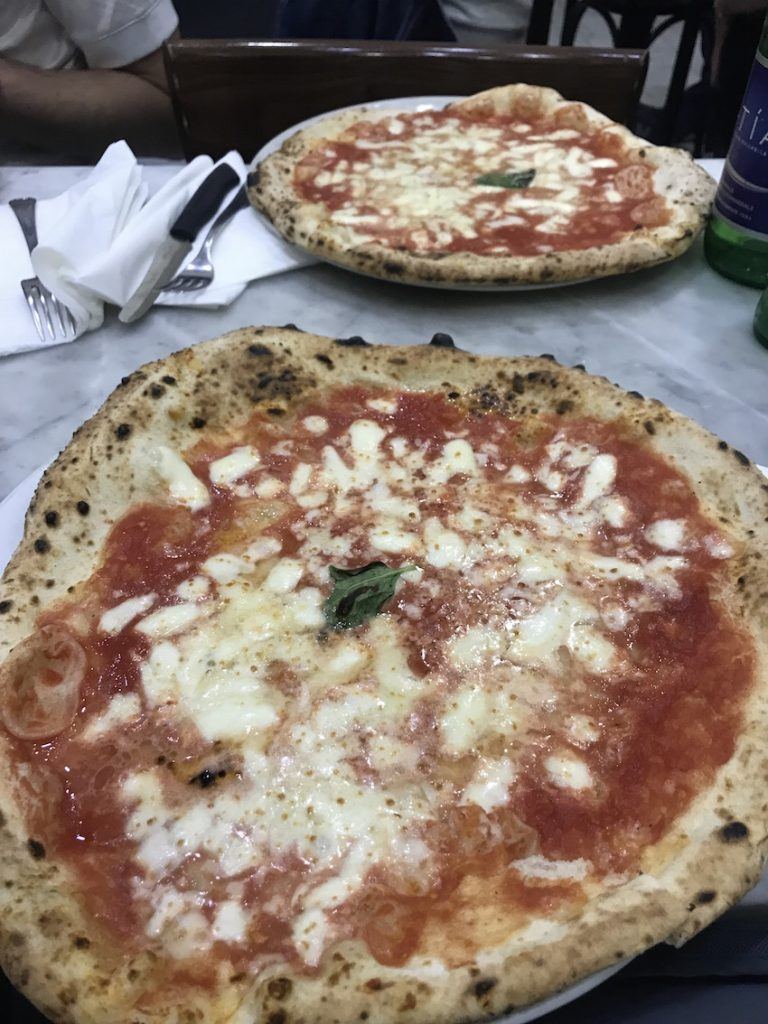 pizza at L'Antica Pizzeria Da Michele